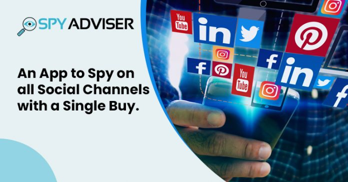 An App to Spy on all Social Channels with a Single Buy